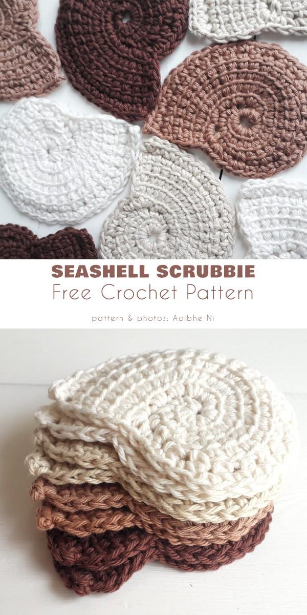 Seashell Scrubbie