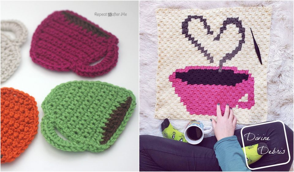 Coffee Time Blanket