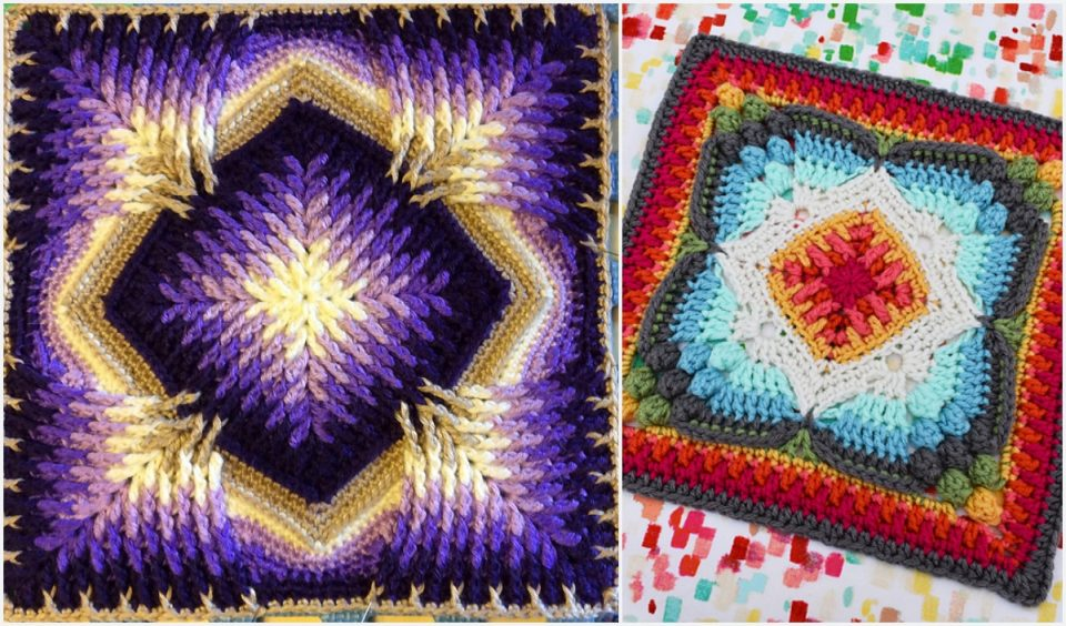 Square in a Square Free Crochet Patterns