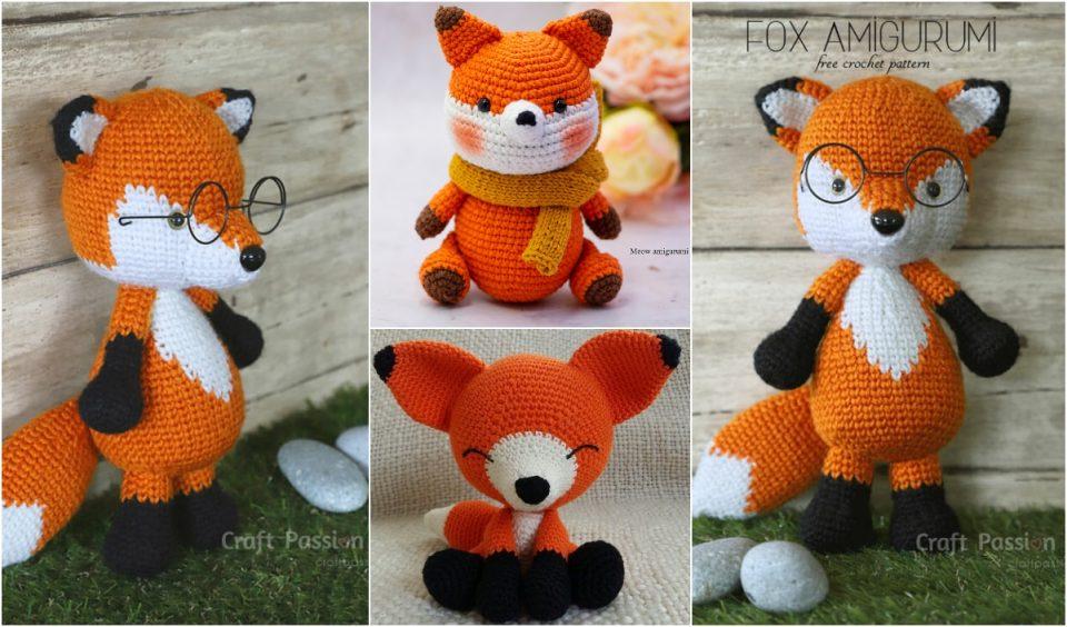 Amigurumi Foxes