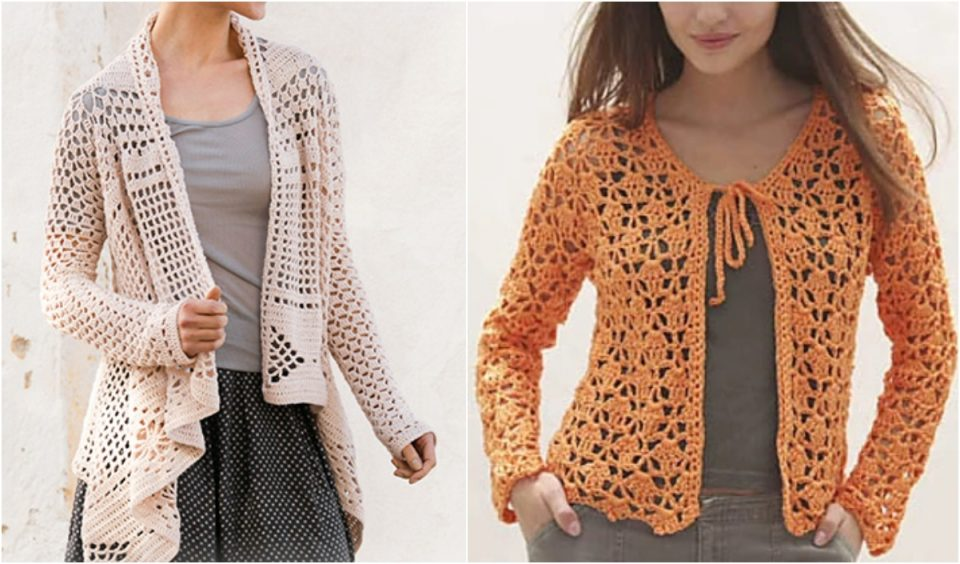 Lacy Top Cardigan