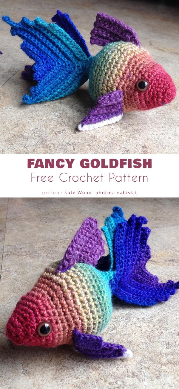 Fancy Goldfish Amigurumi