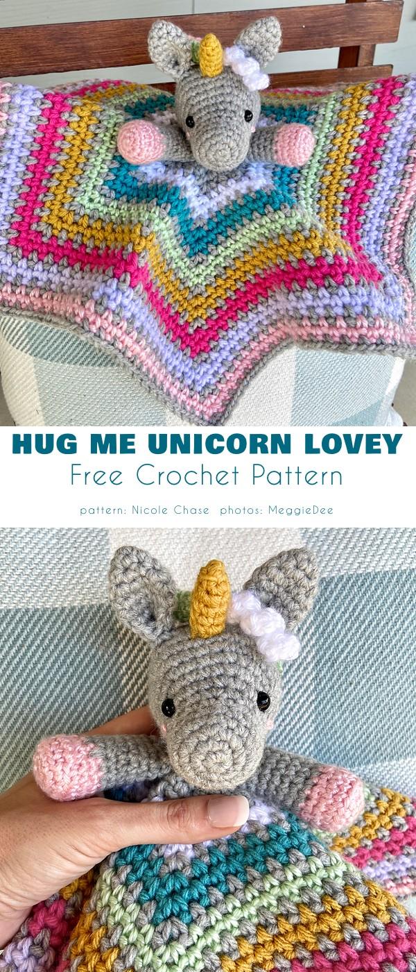 Hug Me Unicorn Lovey