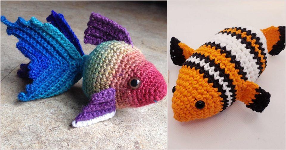 Fishy Crochet Projects
