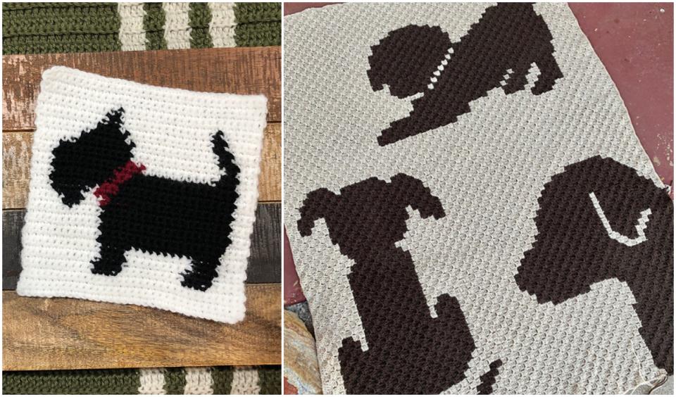 Dog Blanket Free Crochet Patterns