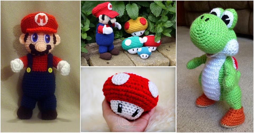 Super Mario Crochet Projects