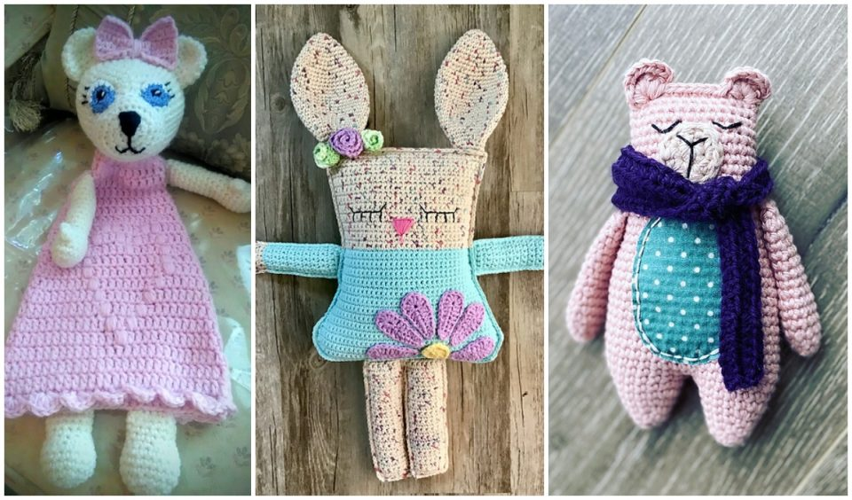 Animal Rag Doll Crochet Patterns