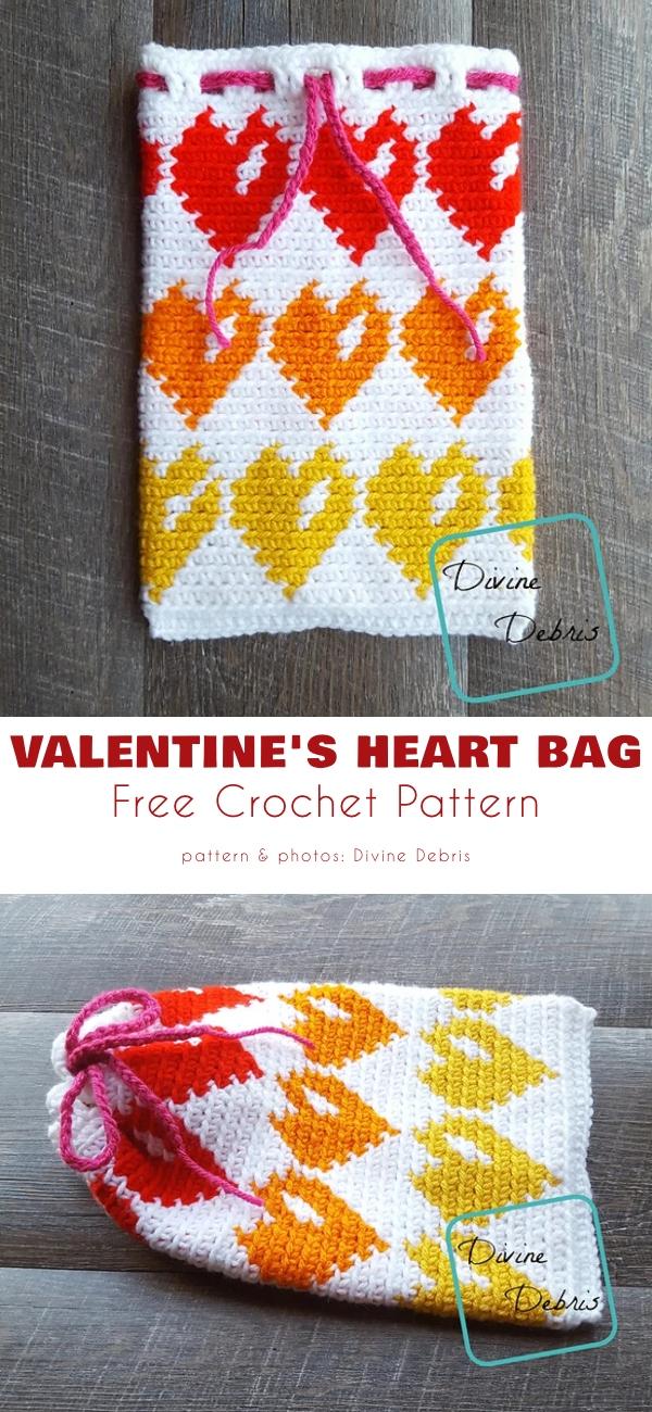 Valentine's Heart Bag