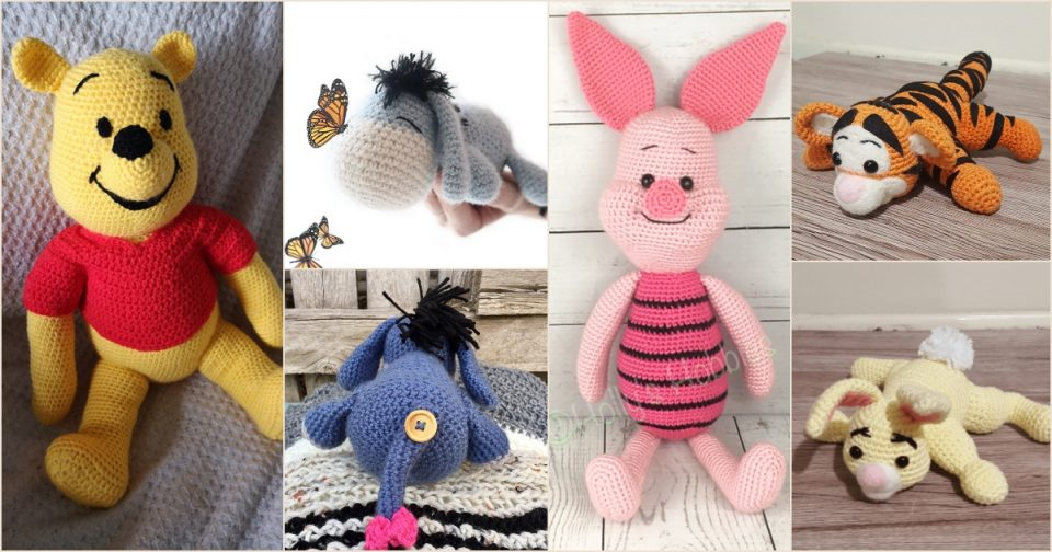 Winnie the Pooh Collection of Free Crochet Patterns