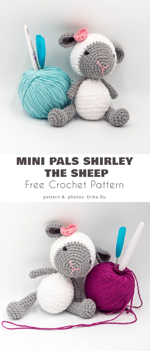Mini Pals Shirley the sheep