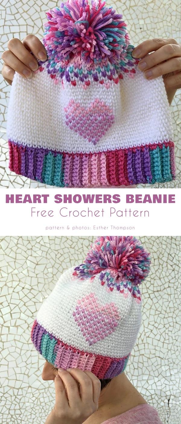 Heart Showers Beanie