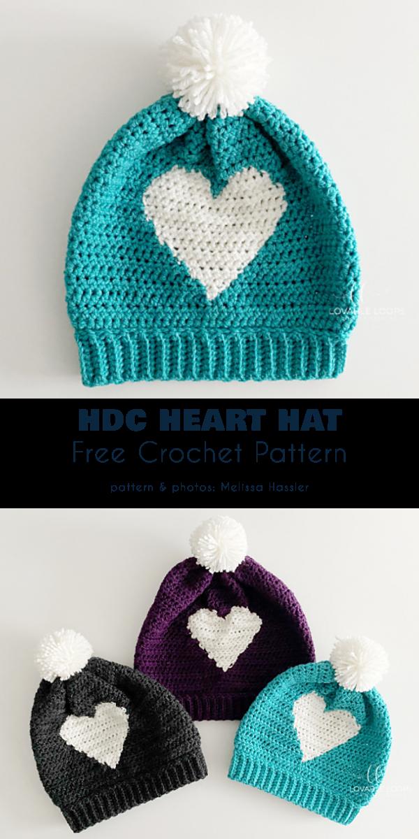 HDC Heart Hat