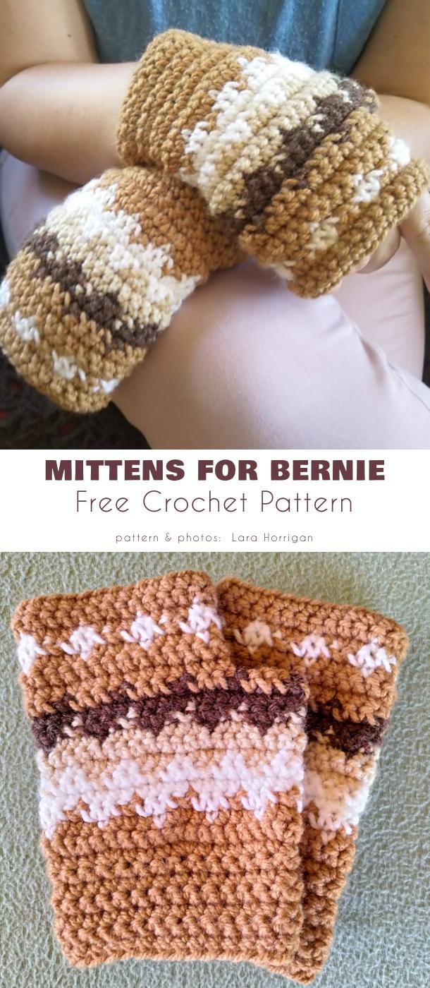 Fingerless Mittens for Bernie