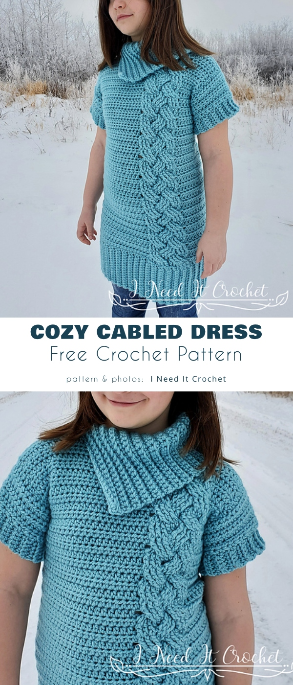 Cozy Cabled Dress