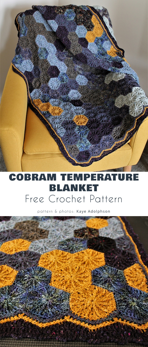 Cobram Temperature Blanket