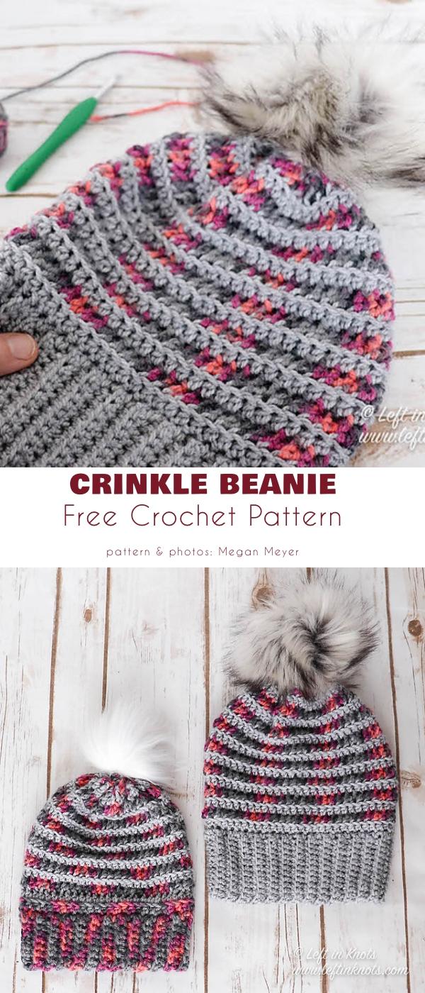 Crinkle Beanie