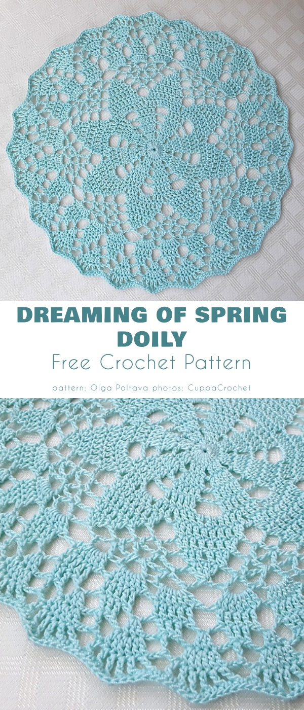 Dreaming of Spring Doily