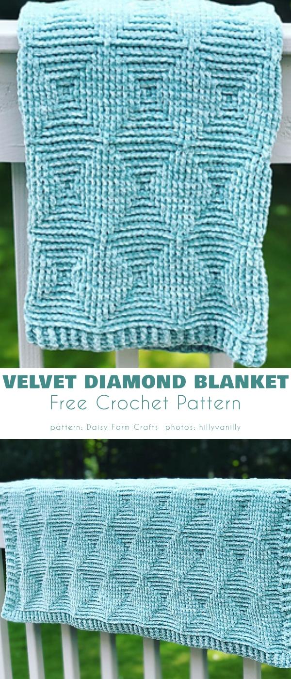 Velvet Diamond Blanket