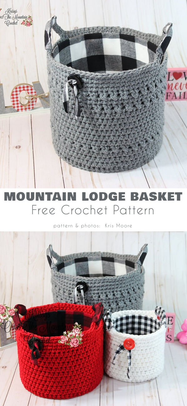 Mountain Lodge Basket