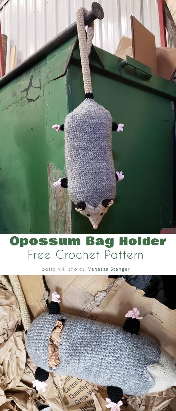 Opossum Bag Holder