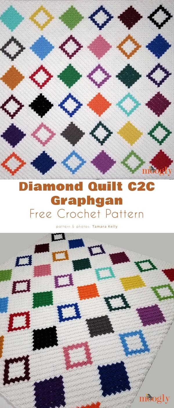 Diamond Quilt C2C Graphgan