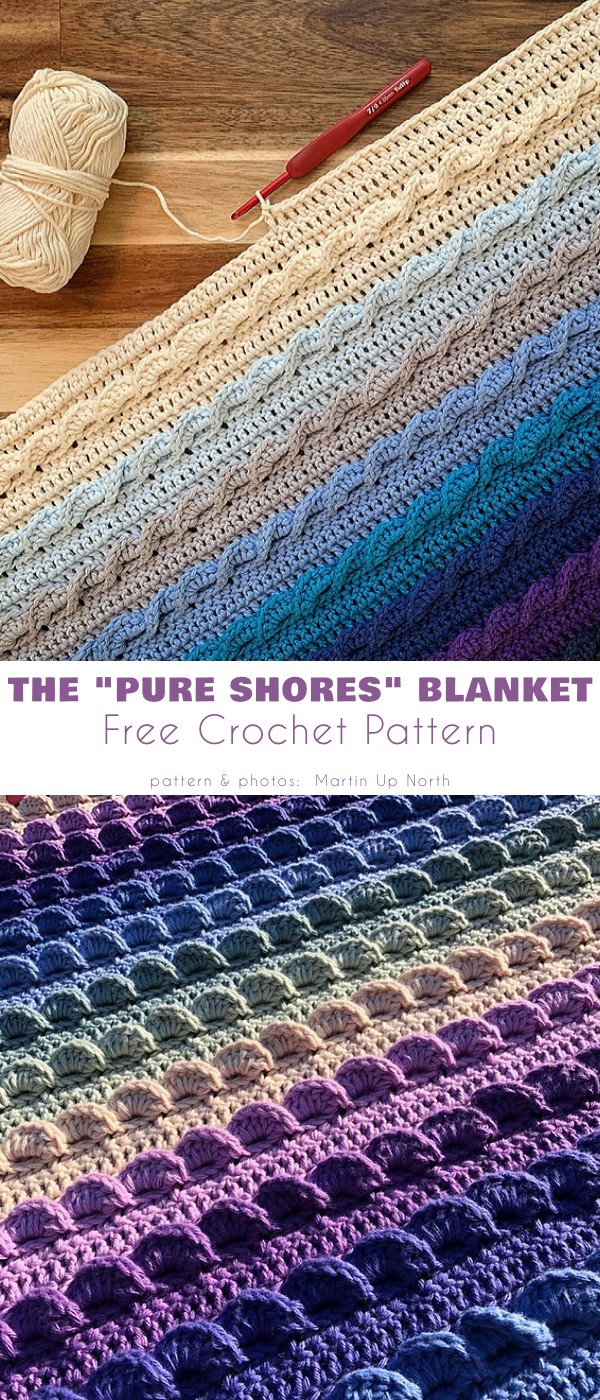 """The """"Pure Shores"""" blanket"""