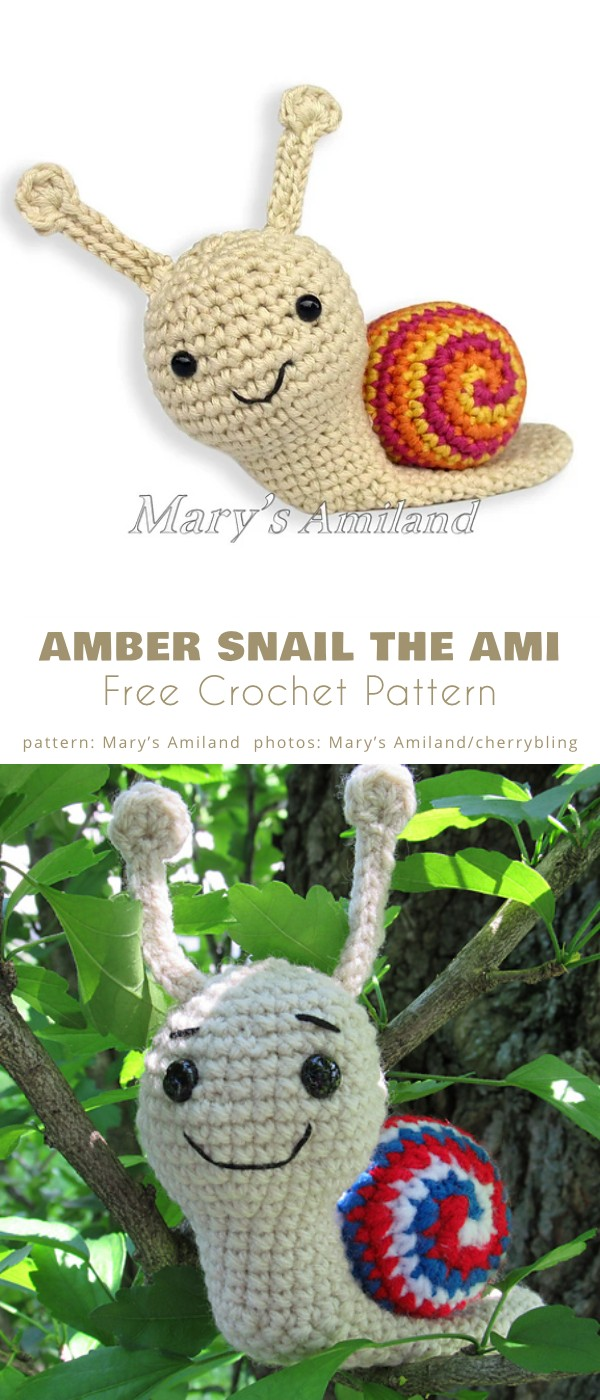 Amber Snail the Ami