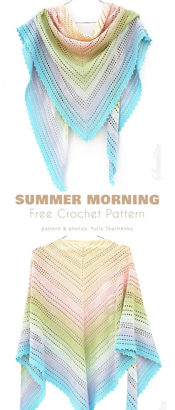 Summer Morning Shawl