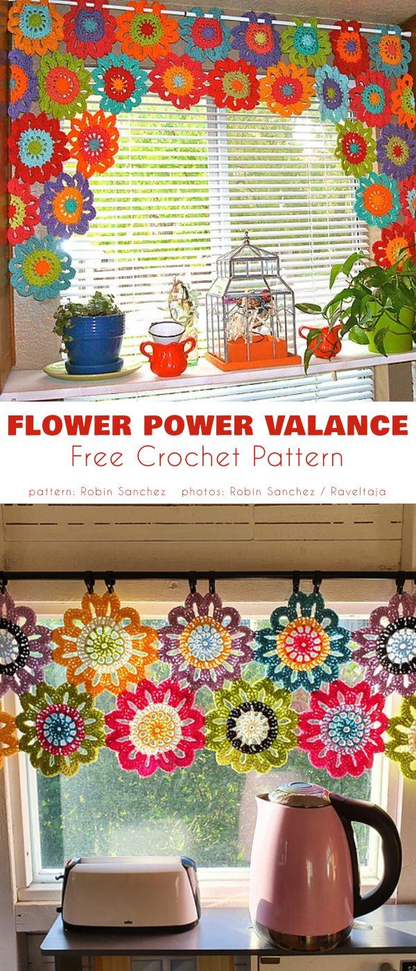 Flower POwer Valance