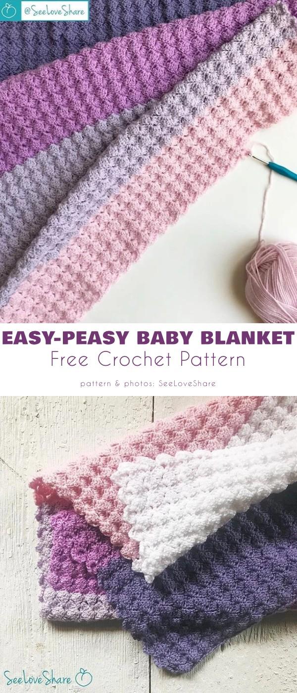 Easy-Peasy Baby Blanket
