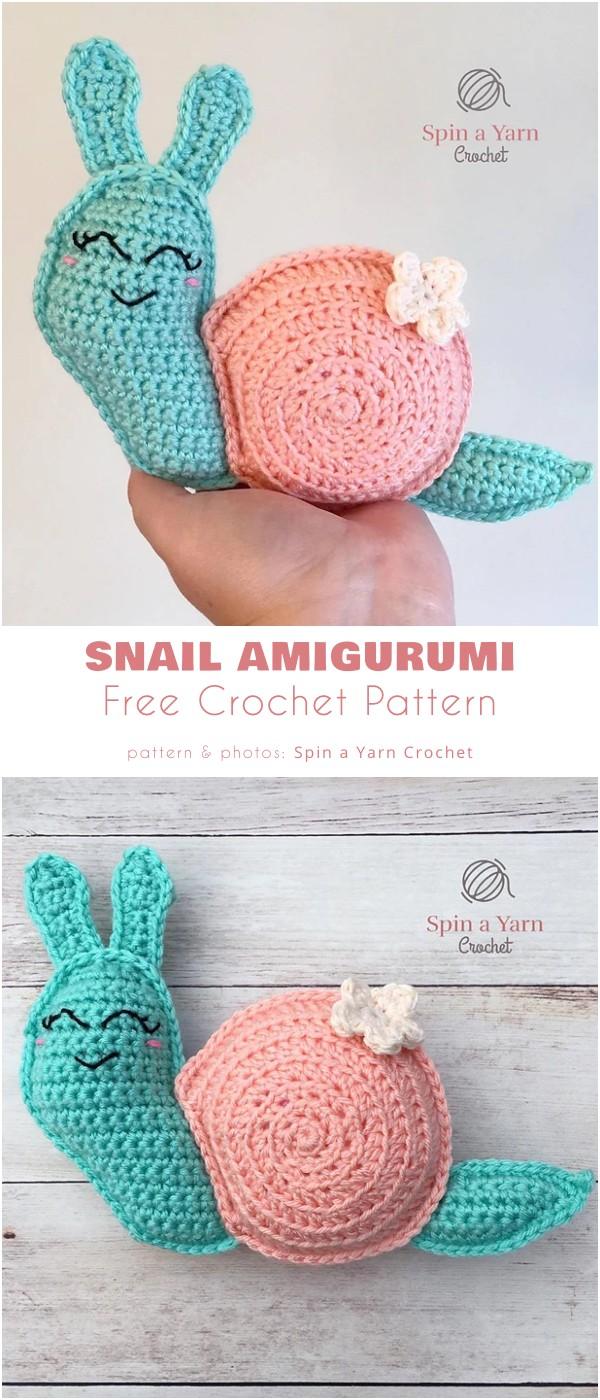 Snail Amigurumi
