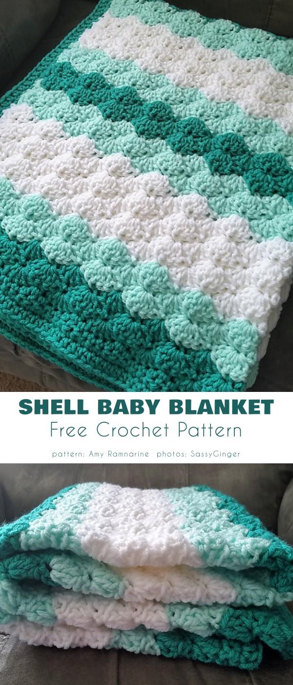 Shell Baby Blanket