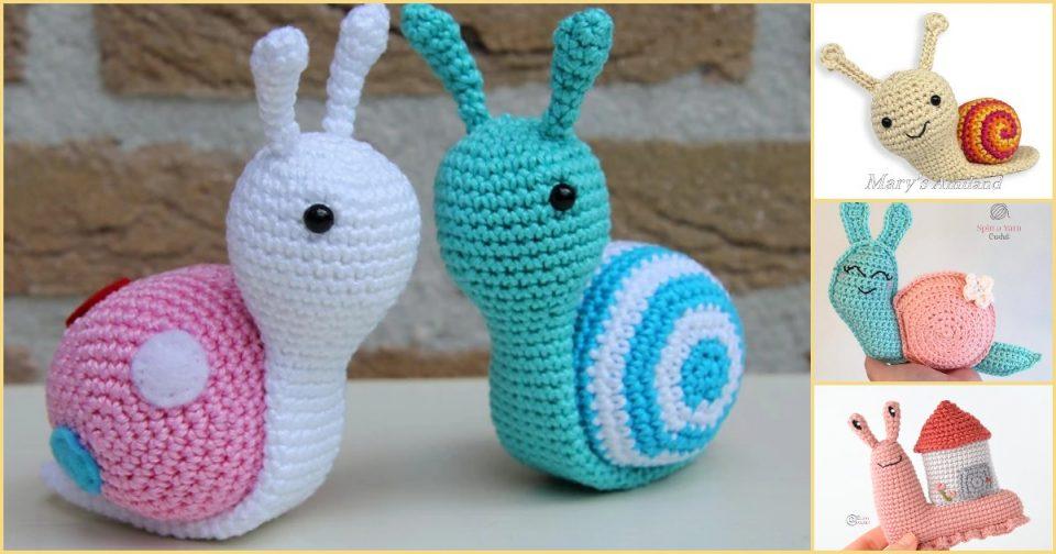 Amigurumi Snails the best patterns
