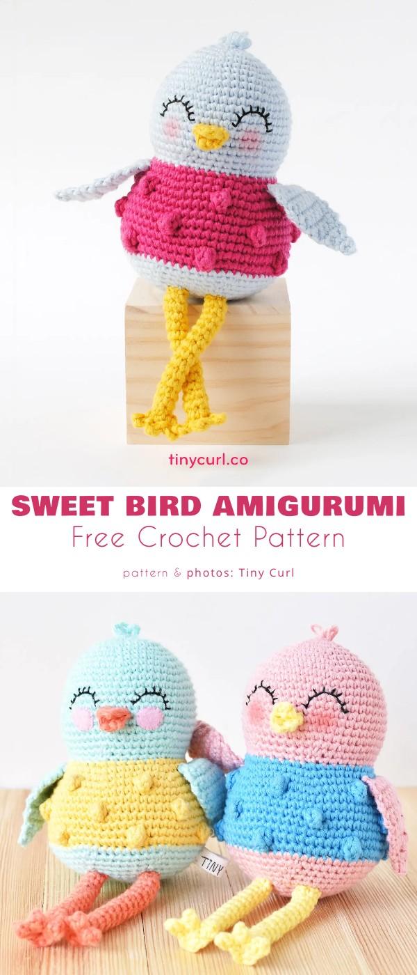 Sweet Bird Amigurumi