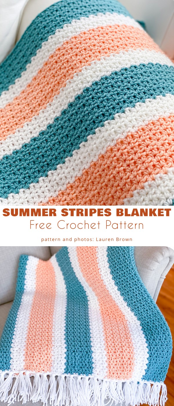 Summer Stripes Blanket