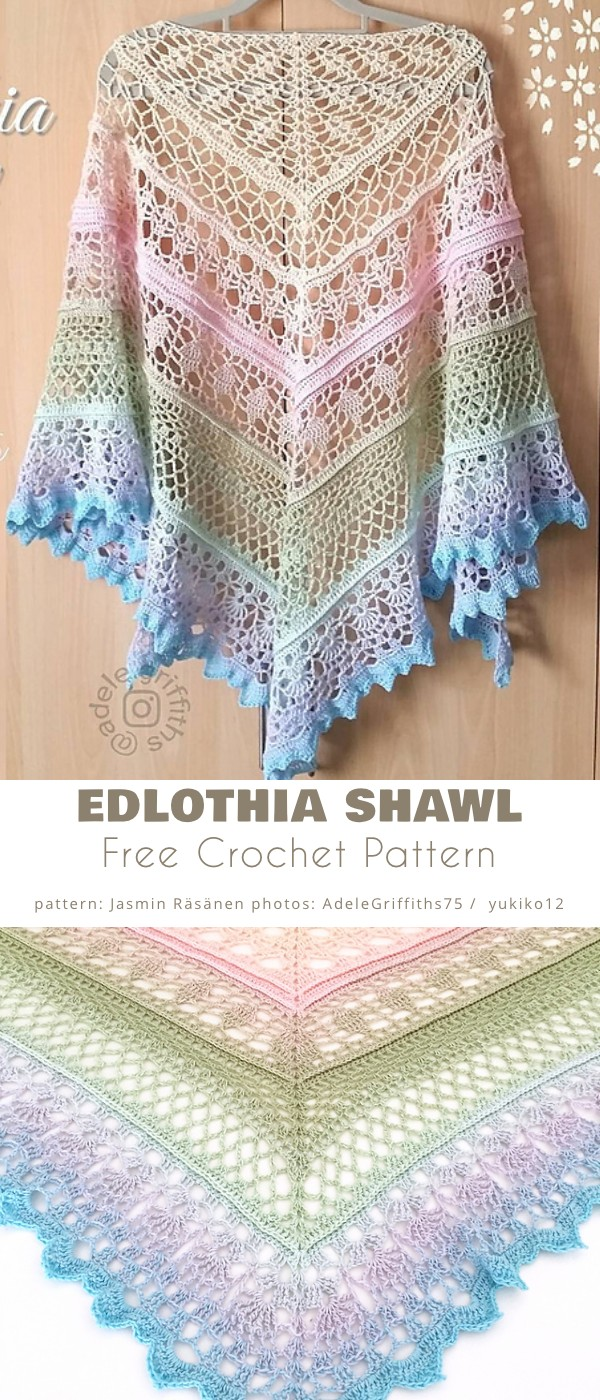 Edlothia Shawl