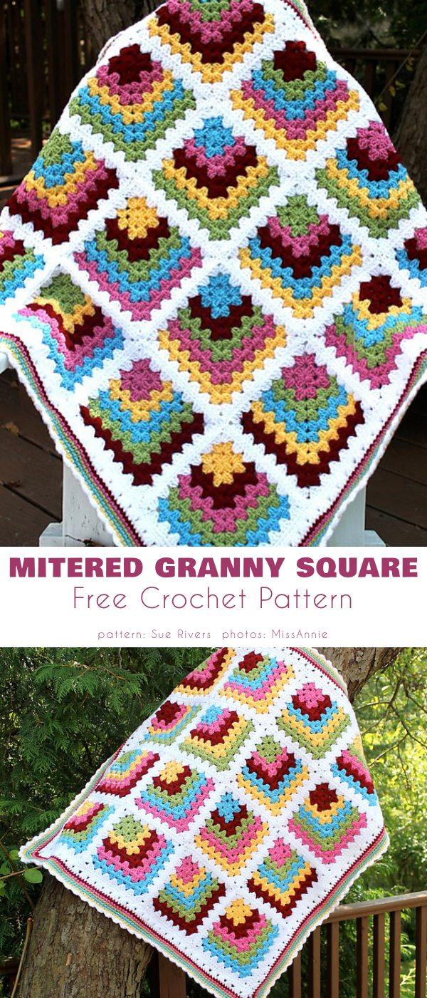 Mitered Granny Square