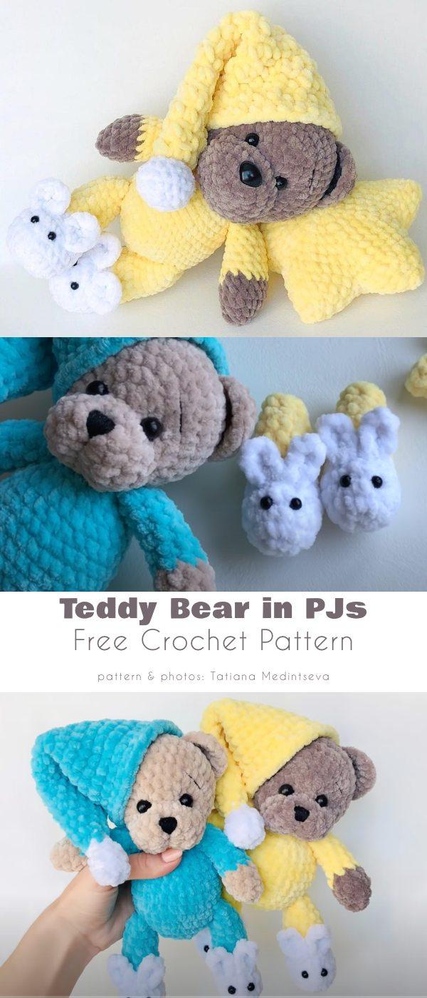 Teddy Bear in PJs
