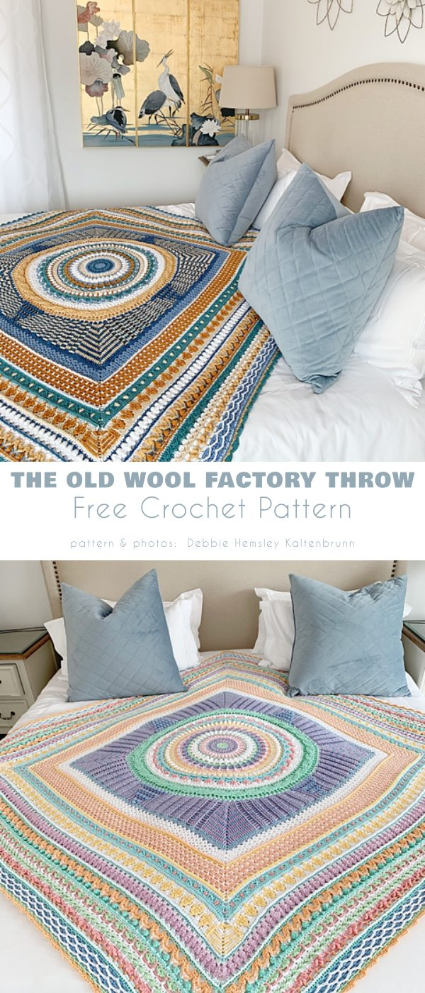 The Old Wool Factory Throw
