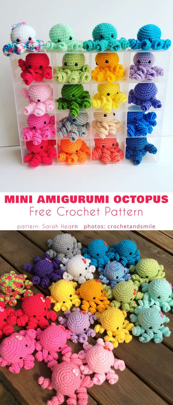 Mini Amigurumi Octopus