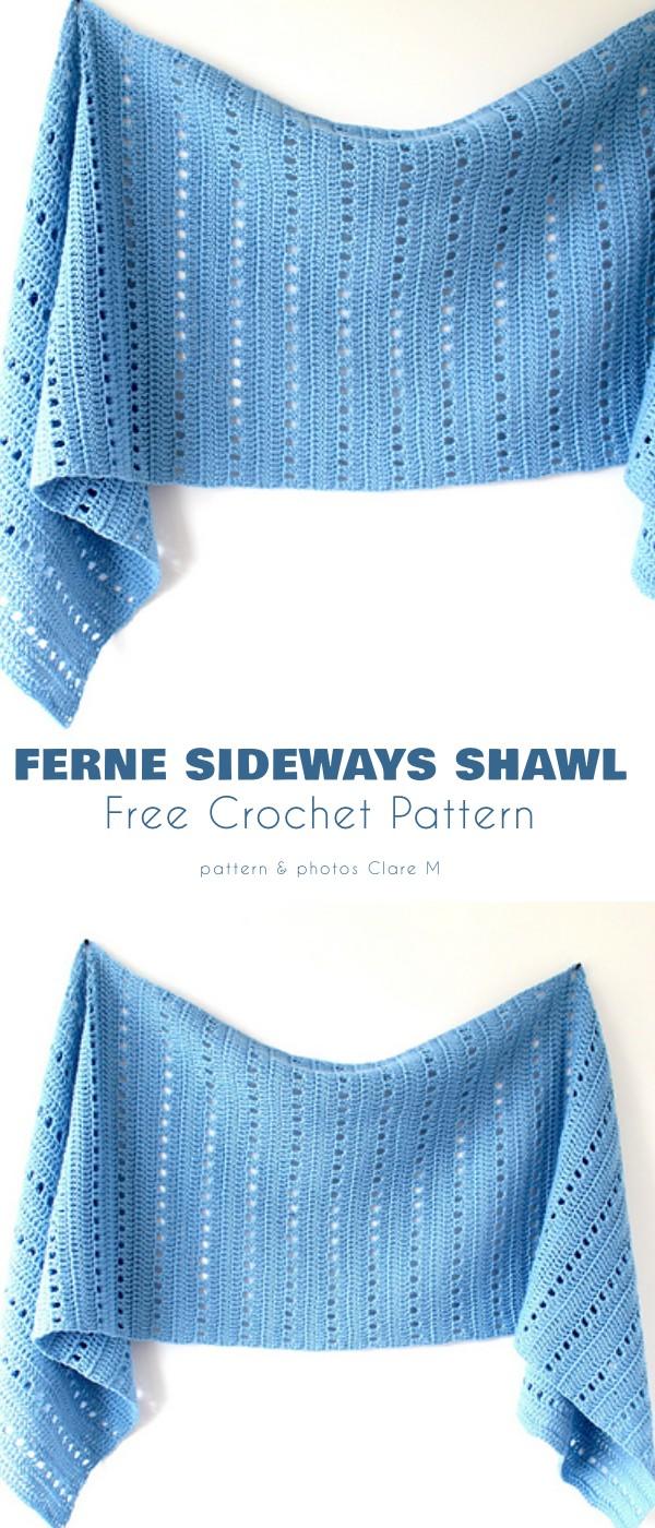 Ferne Sideways Shawl