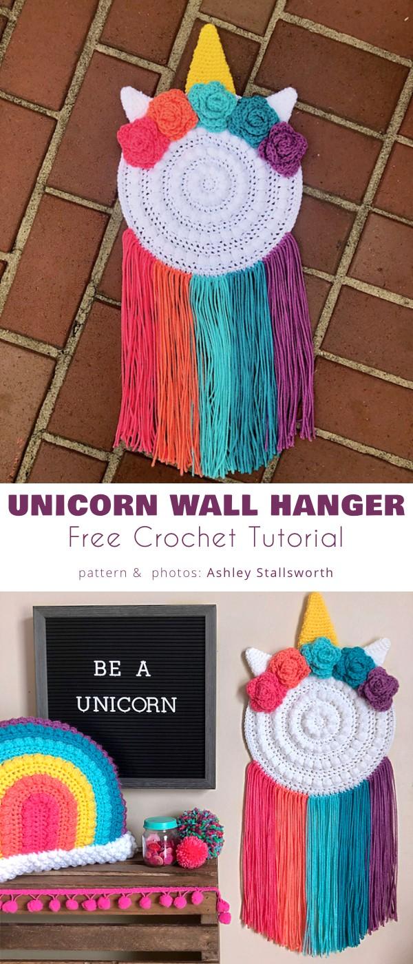 Unicorn Wall Hanger