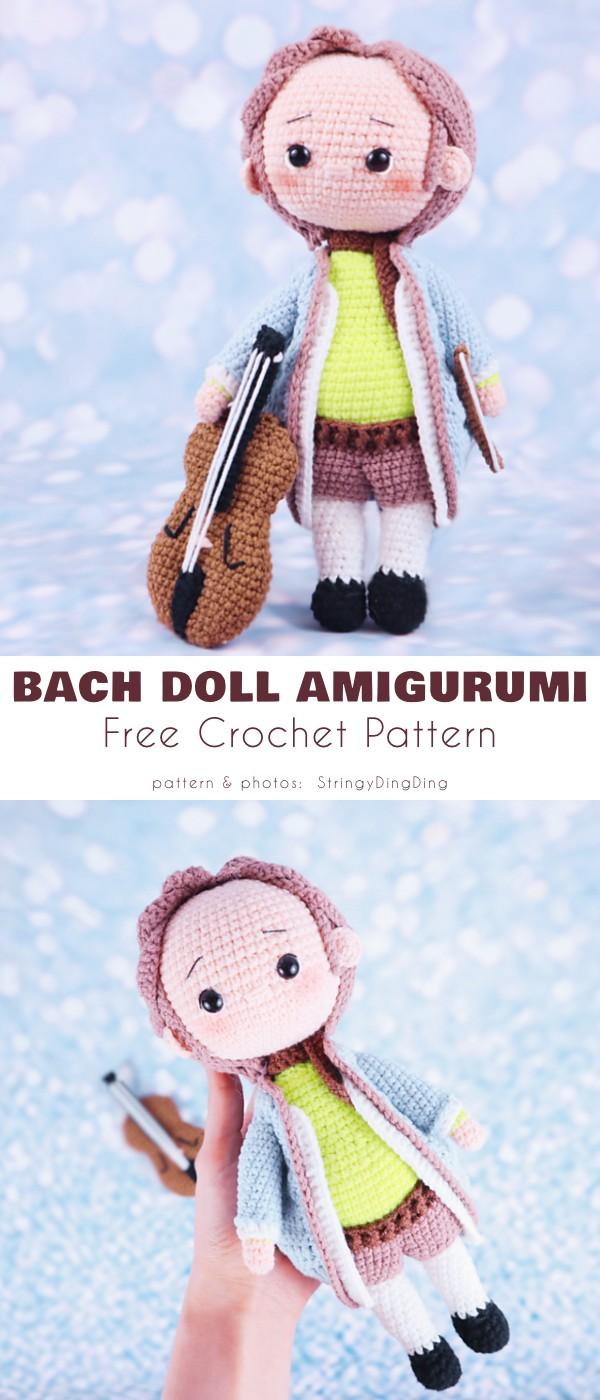 Bach Doll Amigurumi