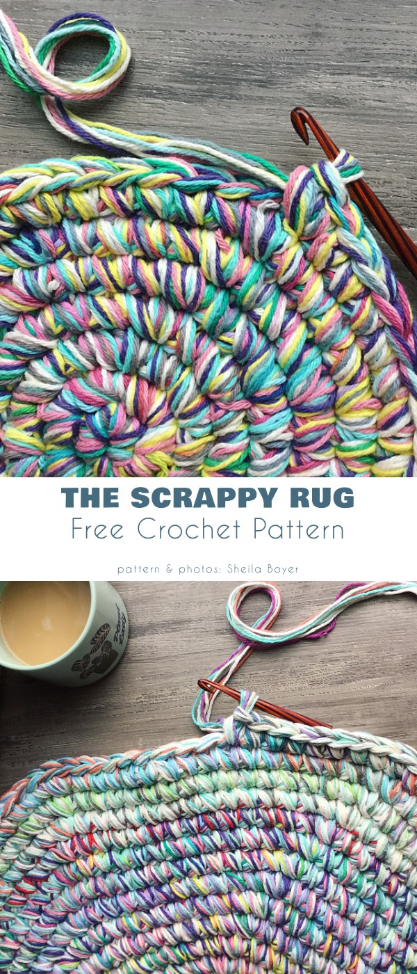The scappy rug
