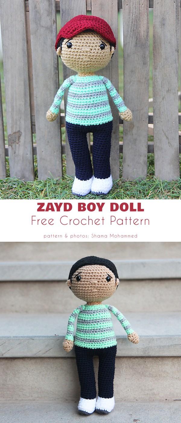 Zayd Boy Doll