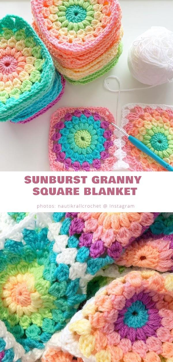 Sunburst Granny Square