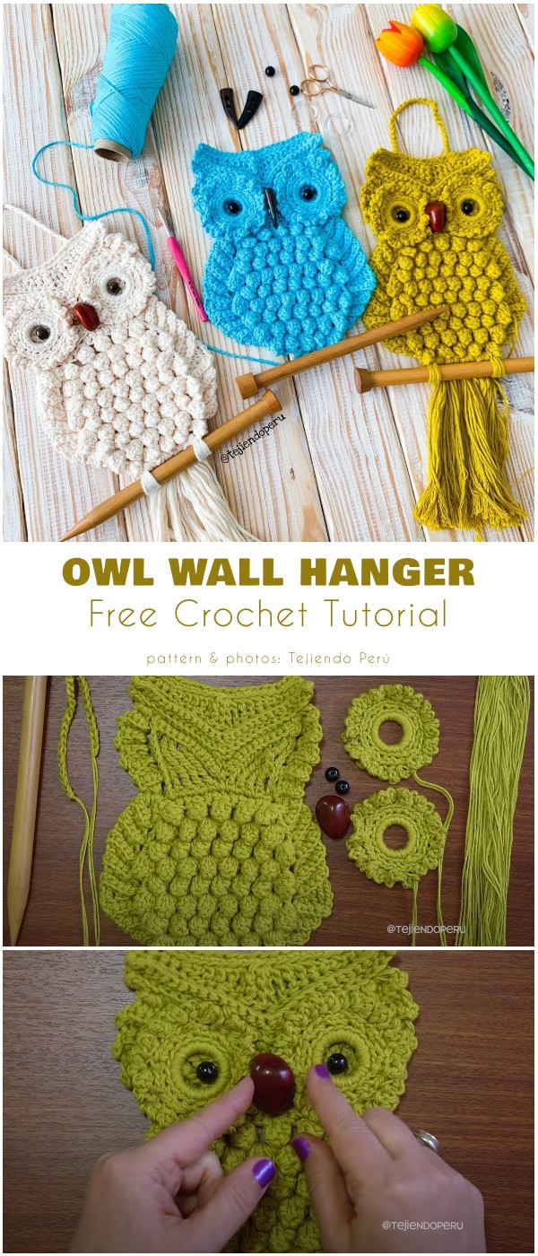 Owl Wall Hanger