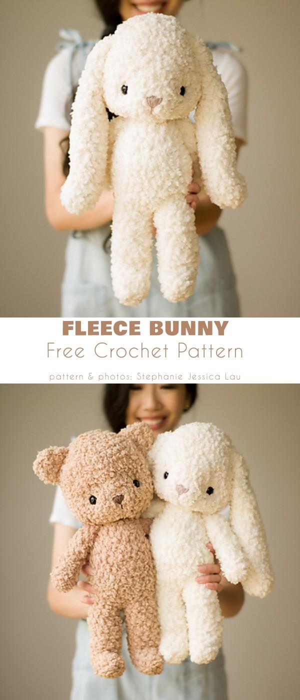 fleece bunny