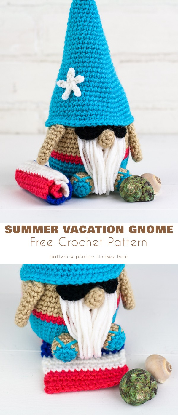 Summer Vacation Gnome