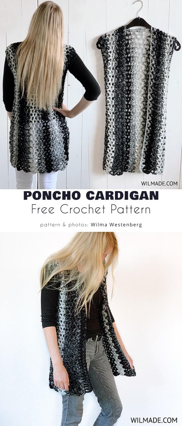 Poncho Cardigan